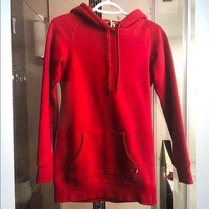Aritzia TNA Hoodie Red sweatshirt size XS
